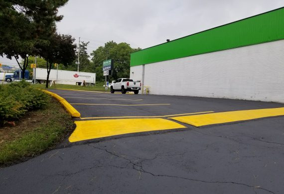 Speed Bump Installation and Removal